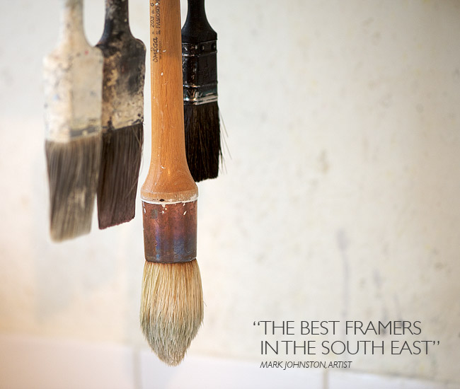 The best framers in the South East - Mark Johnston, Artist